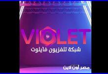 صورة تردد قناة فايلوت تي في Violet Tv الجديد 2021 علي القمر النايل سات
